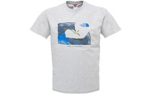 The North Face Men S/S Bouldering in Maddalena Tee heather grey